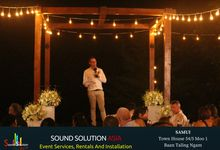 Francesca And Greg Wedding by Sound Solution Asia