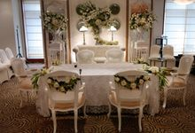 Wedding Hall With Decoration by Financial Club Jakarta