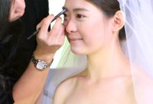 Korean Wedding Demo Make Up for Jewellery Fashion Festive 2014 by Marsia Yulia Signature. Natural and Korean Make Up Specialist.