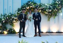 MC Wedding Intimate at JHL Solitaire ballroom serpong - Anthony Stevven by Anthony Stevven