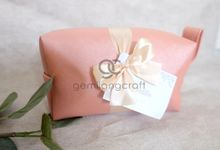 Boxy Premium packaging pita for Cendani & Praditia by Gemilang Craft
