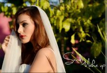 Beauty glamour photoshoot by Sands Makeup