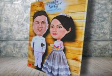 Siesy & Arasta by Wedding Fingerprint Indonesia