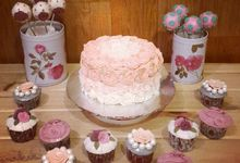 Flower Theme Cakes by Rolling Pin Sugar Art