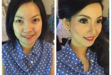 Client's Makeover by Jovita Sebastian Make Up Artist