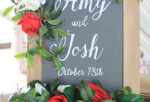 Amy & Josh Wedding Reception by KORI Catering