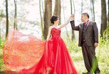 Pre Wedding by Portia MakeUp Artist