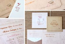 Invitation Design Compilation by Paper Love Story