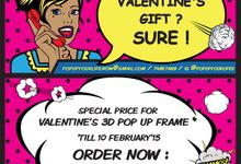 VALENTINE'S PROMO by POP UP YOUR LIFE