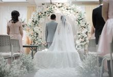 The Wedding of Nadia & Agus by Amorphoto