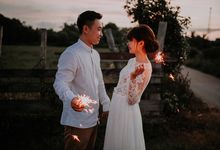 Local Malaysia Engagement & Pre-Wedding of Mellvin & Eunice by Jessielyee.