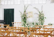 The Wedding Of David & Felicia by Elior Design