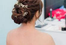 Kuala Lumpur Make up and hairdo artist for wedding by MEB Entertainments