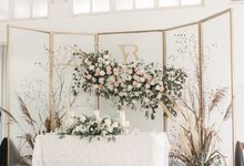 The Wedding of Victor and Risca by Elior Design