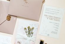 Billy & Sally Wedding Invitation by Gracia The Invitation