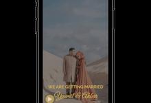 Yaumil & Akbar Web Invitation by Hibless.id