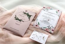Undangan Pernikahan Christo & Riri by Moria Invitation