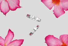 Ami Wedding Ring by Reine