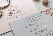 The Wedding of Raymond & Yoana by SentimeterCard