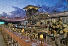 Wedding Decor at The Sakala Resort Bali by d'Oasis Florist & Decoration