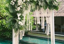 Wedding Styling at Seseh Beach Villas by baliVIP Wedding