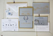 Dreamy Dusty Blue Wedding by Creative Touch Party Design