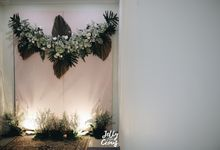 Dekorasi Tunangan Afwa dan Firli by jellycious.project
