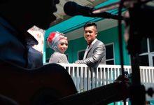 the wedding of Senja & Fajar by papenian