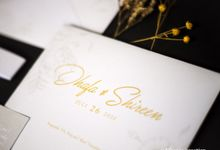 The Wedding of Dhafa & Shireen by Artemis Creation