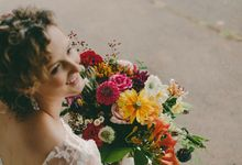 Real Bride- rustic romantic by Green Scarf Girl