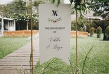 The Engagement Of Arya and Vikka by Elior Design
