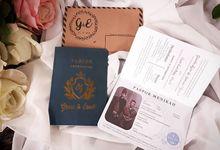 Undangan Pernikahan Paspor by Paper Love