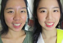 Before After Makeup by Kezia Kho Hair and Make Up