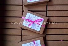 Wedding Souvenirs for Ms Viona by madebykhai