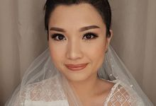 Wedding Makeup Look for Ms Michelle by Brushed by Del