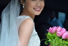 Chini Wedding by Ochie Laraya hair and makeup