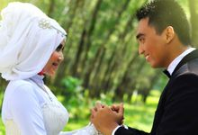 Dyah and Hadwer's Prewedding by KSA photography