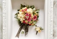 The Bouquet 40x50 by Magnolia Dried Flower