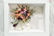 Signature of Bouquet 40x50 by Magnolia Dried Flower