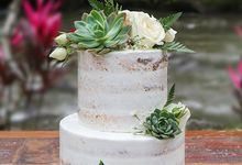 Wedding cake 2 by sugar legacy