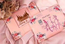 Undangan Kalender Duduk Lipat 3 by Paper Love
