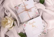 Undangan Soft Cover Tali Rami by Paper Love