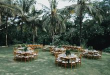 Tropical Greens Wedding by DIJON BALI CATERING