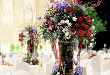 JCC Vip table decor by Yulika Florist & Decor