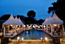 Romantic and Intimate Wedding by The Patra Bali Resort & Villas