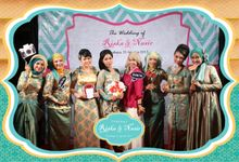 The wedding of Riska & Nasir by The Caramel's Corner