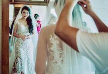 Beautiful wedding at Ayana Resort by Yulan Make Up Artist Bali