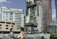 Aldrich & Lucky Melbourne Wedding by Ian Vins