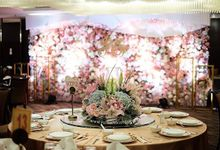 Intimate Wedding of Ian & Shierlly  by Yulika Florist & Decor