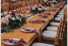 Pram & Auxi Wedding by She Fleuri